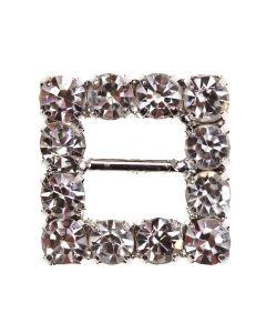 Square Diamante Buckle (Midi)