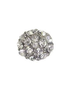 Pia Silver Diamante Embellishment