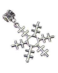 Snowflake Charm - Side View