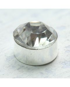 Solitaire Diamante Embellishment - Side Profile Zoom