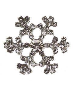Diamante Snow (Small) Embellishment