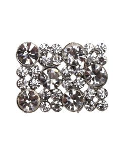 Carina (Media) Rectangular Diamante Embellishment