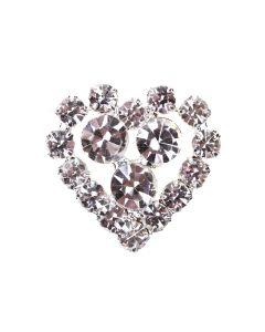 Eros - a small diamante heart embellishment