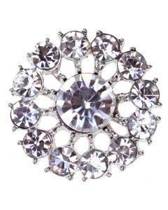 Monte Carlo - a circular diamante embellishment