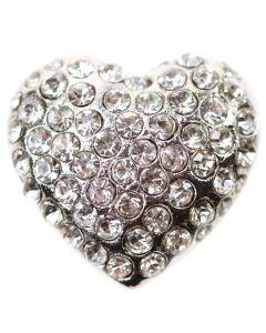 Seattle (Embellishment) - a heart shaped diamante embellishment