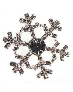 Diamante Snow Embellishment