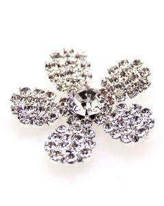 St Louis Diamante Flower Embellishment