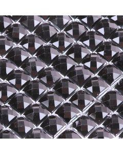 Black Diamante Sheet - Zoom
