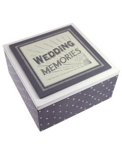 'Wedding Memories' Memory Box