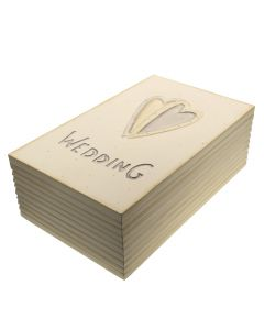 Wedding Two Hearts Memory Box