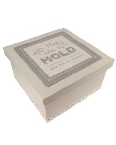 'To Have and to Hold' Wedding Box