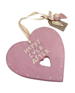 'Happy Ever After' Wedding Heart