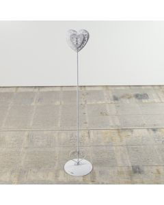 Tall Vintage Heart Clip Stand