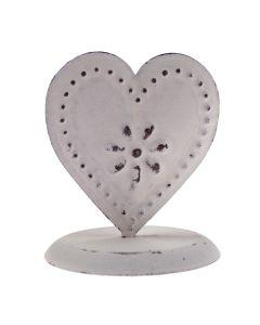 Vintage Mini Heart Memo Clip