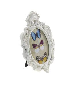 Oval Portrait Frame Ivory