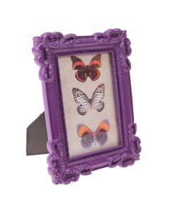 Portrait Purple Frame for DIY table numbers.