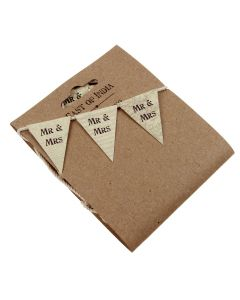 Retro Mr & Mrs Bunting