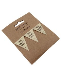 Retro Live Laugh Love Bunting