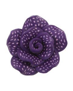 Purple Vintage Clay Rose