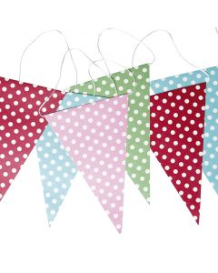 Polka Dot Wedding Bunting