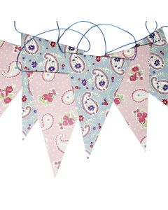 Paisley Wedding Bunting