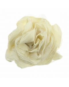 Large Ruffle Flower Brooch - Front