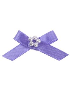 Lupin Ribbon Bow and Pearl Cluster