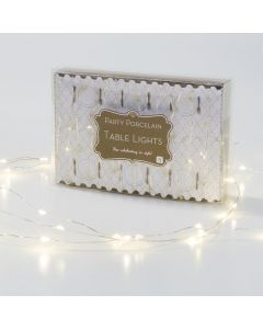 Party Porcelain Gold Table Lights