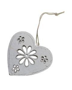 Vintage Daisy Heart