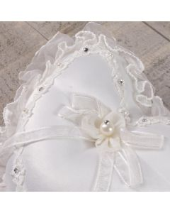 Ivory Wedding Ring Cushion