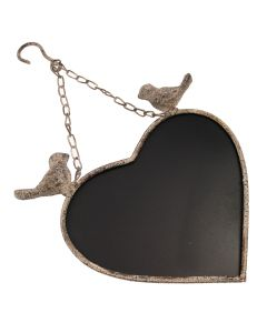 Rustic Heart Bird Chalkboard