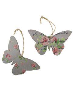 Chintz Decrative Hanging Butterflies