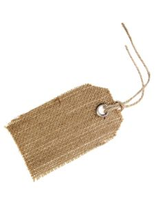 Hessian Tags (Natural)