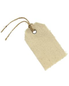 Hessian Tags (Ivory)