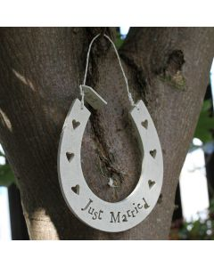 Large Wedding Horseshoe
