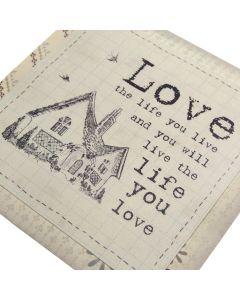 Vintage Envelope Confetti