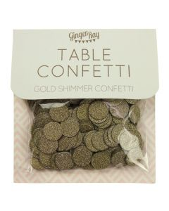 Table Confetti - Gold Shimmer