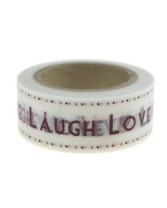 Live, Laugh, Love Adhesive Paper Tape