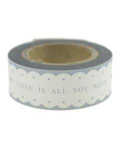 Love Is All You Need Adhesive Paper Tape