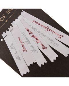 Wedding Label Gift Set