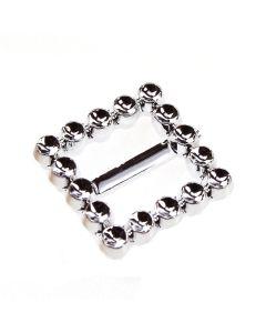 Square Faux Diamante Buckle (20mm)