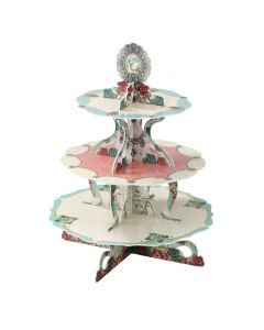 3 Tier - Pastries and Pearls Cake Stand