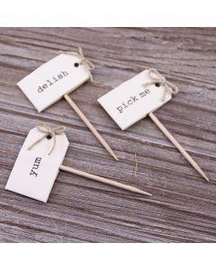 Cupcake Sticks - Details of 3 Designs