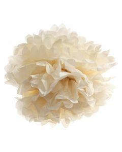 Large Cream Pom Pom