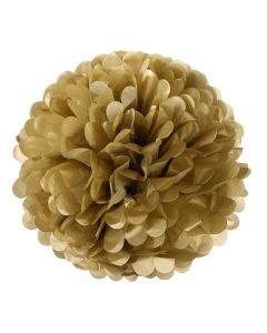 Gold Pom Poms (Pack of 3)