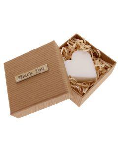 Thank You Boxed Heart Shaped Soap - Bridesmaid Gift