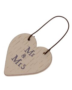 'Mr & Mrs' Gift Ornament