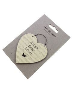 'Happy Ever After' - Heart Gift Tag