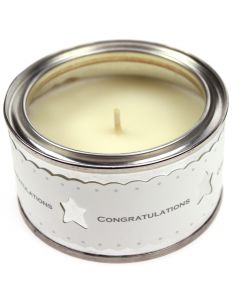 'Congratulations' Candle - Ginger and Vanilla Fragrance