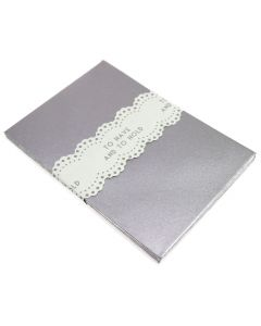 Silver Favour Envelopes